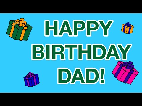 HAPPY BIRTHDAY FATHER DAD birthday cards YouTube – Happy Birthday Card Dad