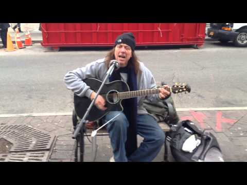 Homeless Singer, Stan Houston