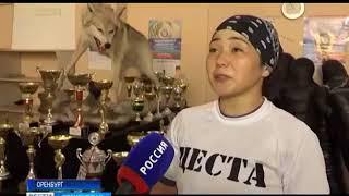 M 1 Challenge 94  оренбургская спортсменка Асия Клютова вне арены