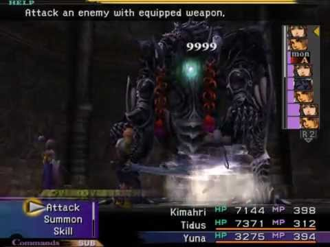 how to get no encounter weopons ffx
