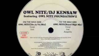 DJ Kensaw feat Owl Nite Foundation