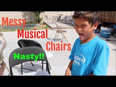 Messy Musical Chairs