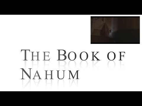 *Excellent Bible Study* The Amazing Claims of Bible Prophecy - The Book of Nahum - Dr Mark Hitchcock