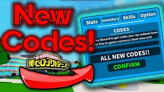 *All New Codes* AUGUST 9 2019 [Boku No Roblox : Remastered]