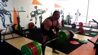 Рауно Хейнла,  становая тяга - 440 кг!