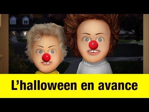 L' halloween en avance - Têtes à claques
