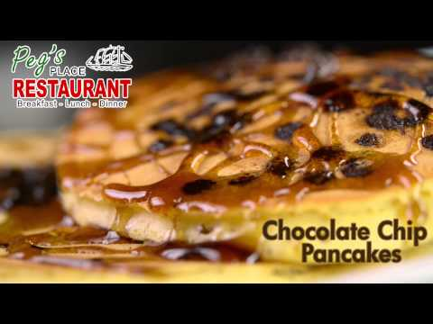 Peg's Place Pancakes Product Video w/Animation