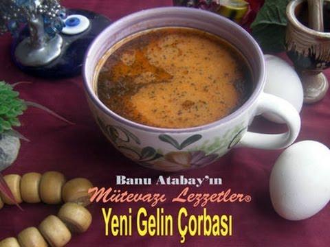 Yeni Gelin Çorbası (Çorba Tarifleri) - YouTube