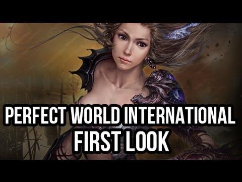Perfect World International (Free MMORPG): Watcha Playin'? Gameplay First Look