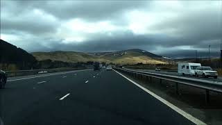 Richard Burton and co. on the M74