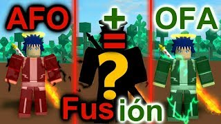 This is what would happen if WE FUSION these 2 powers! (AFO & OFA) Roblox: Heroes Online