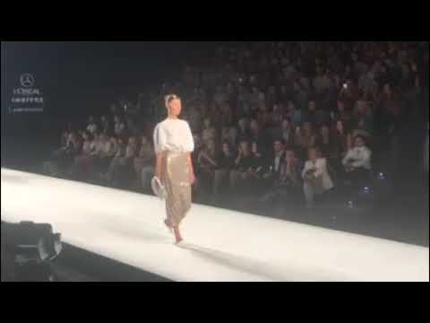 Hoy hablo del desfile de Modesto Lomba, en la Fashion Week Madrid