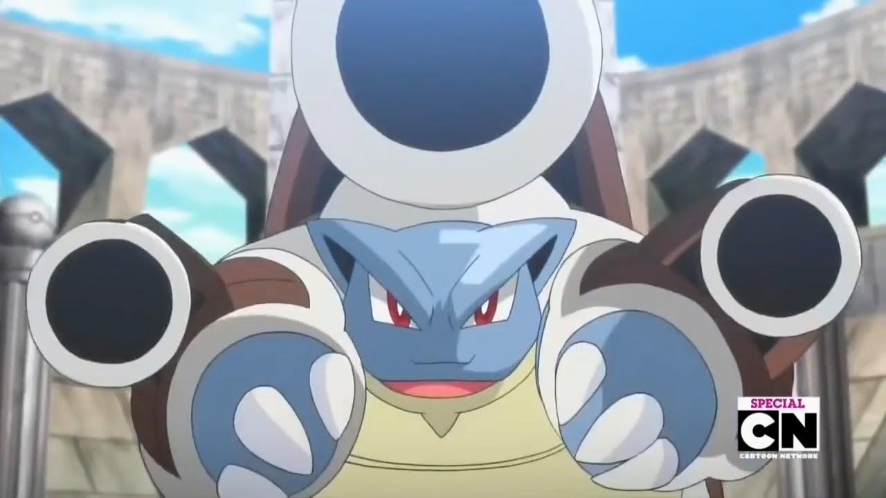 Mega Charizard Vs Mega Blastoise Pokemon Xy Special Episodes