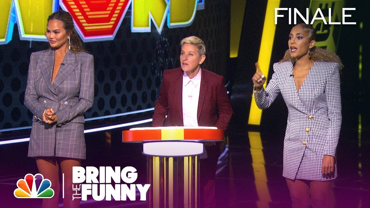 Download Chrissy Teigen, Kenan Thompson, Jeff Foxworthy and Amanda Seales on Ellen's Game of Games (Finale)