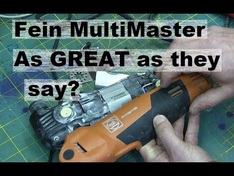 BOLTR: Fein MultiMaster Oscillating Tool