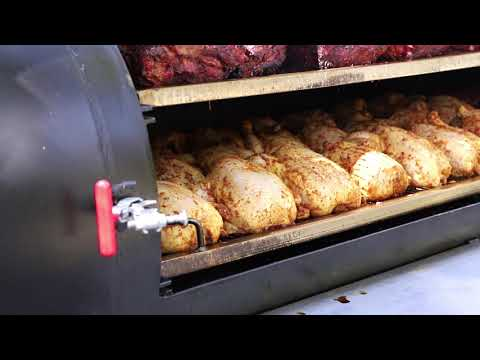 Cooking For Hundreds On A Meadow Creek TS250 Offset Smoker