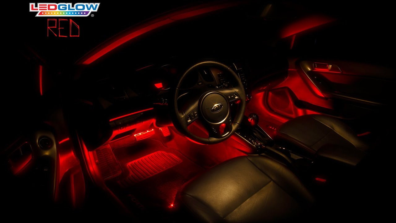 Honda Civic Interior Red Lights Great Home Inteiror 1992 Ledglow S 4pc Led Lighting Kit Youtube Rh Com 99 Modified
