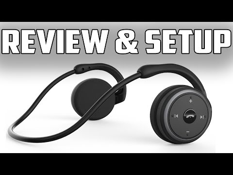 afc5337d8b8 Marathon2 Sports Bluetooth Headphones for Running and Gym Review / Pairing  - YouTube