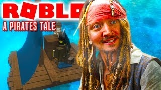 A PIRATE ADVENTURE! -Roblox A Pirates Tale Danish Ep 1