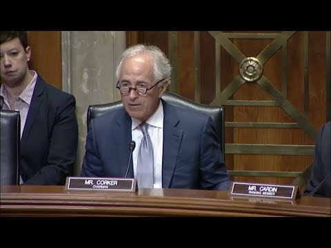 Corker Statement at Hearing on Nomination for U.S. Ambassador to India