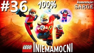 Zagrajmy w LEGO Iniemamocni (100%) odc. 36 - Elastyna na tropie 100%