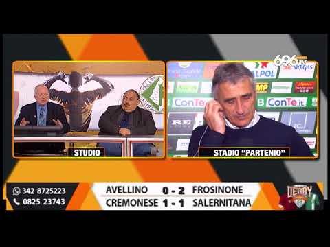 Avellino - Frosinone 0-2: il commento di Foscarini