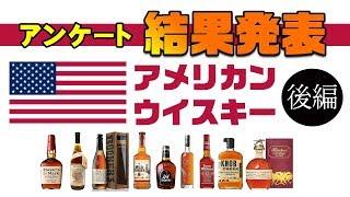 [アンケート企画] アメリカン・ウイスキー -結果発表- 後編