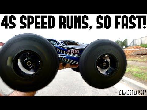 JLB RACING CHEETAH 21101 Speed Runs on 3S & 4S - Plus Funny Ending