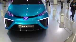 トヨタ燃料電池車ミライ TOYOTA Fuel cell vehicle 日産電気自動車リー...
