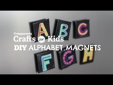 Duct Tape Alphabet Magnets | Crafts for Kids | PBS Parents