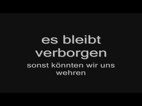 Rammstein - Wilder Wein (lyrics) HD
