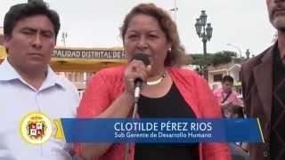09 10 DISTRITO DE HUAURA campaña contra el maltrato infantil