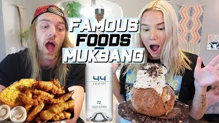 MUKBANG | MOST POPULAR FOODS FROM MY STATE