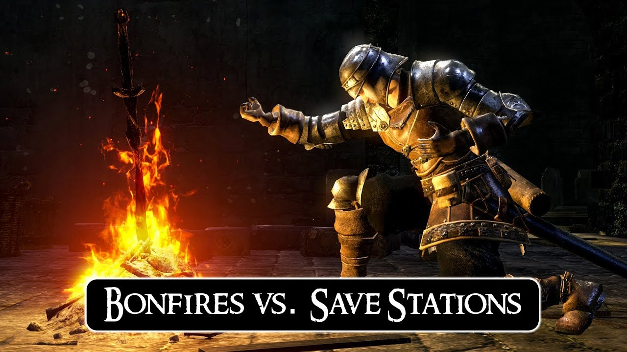 Dark Souls Bonfires vs  Other Save 'Systems' | RAMBLE by Gopher