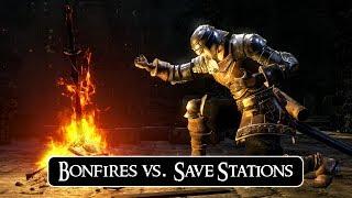 Dark Souls Bonfires vs. Other Save 'Systems'   RAMBLE