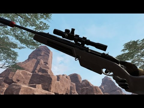 Warface:Gameplay with Steyr Scout(ПТС)