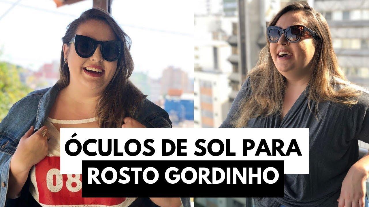 19f026c80b065 Óculos de sol para rosto gordinho    por Ana Luiza Palhares ...