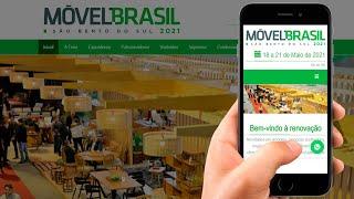 Desenvolvimento do Novo Site Profissional da Móvel Brasil 2021 - Samuca Webdesign