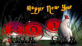 Happy New Year - Greeting Card 2014❤ Animated New Year E-card❤