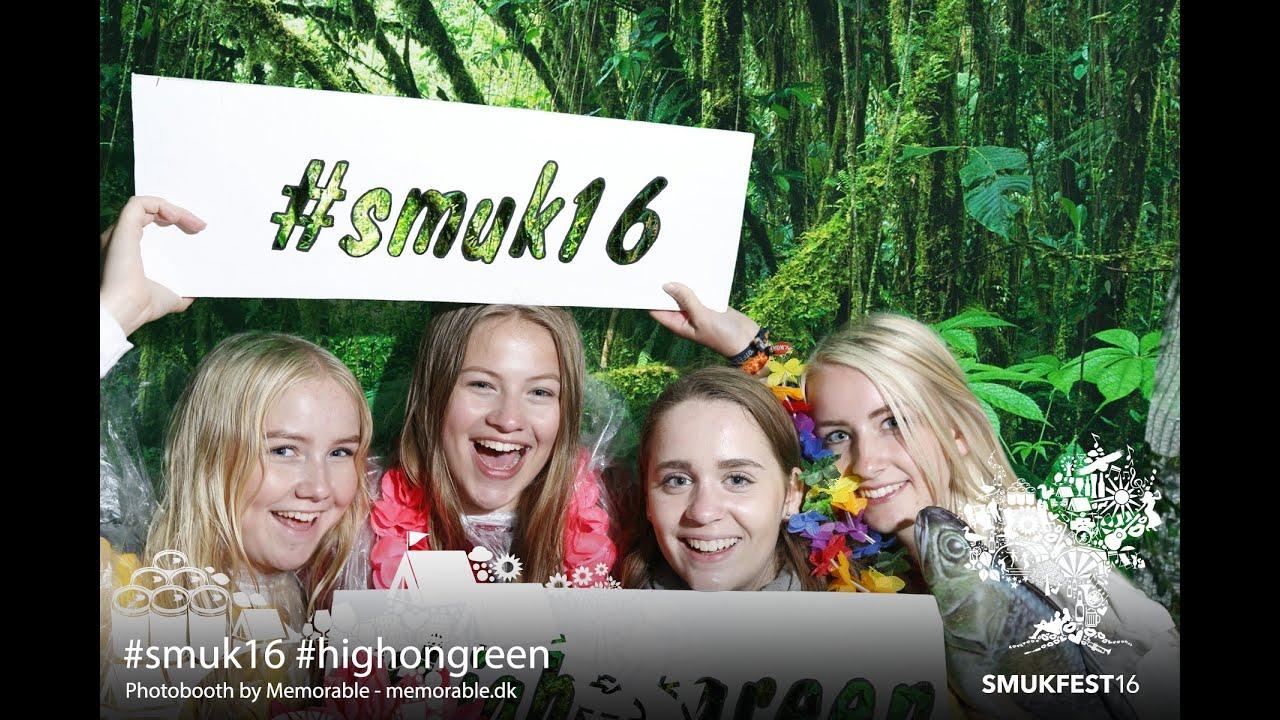 "SMUKFEST 2016 - Photobooth ""High on green"""