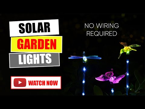 Hardoll solar decorative garden lights