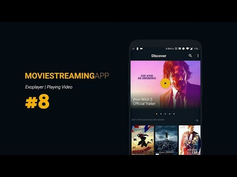 Movie Streaming App Part 8: Movie Player Activity: ExoPlayer Setup | Android Studio Tutorial