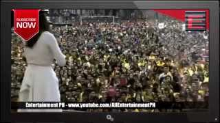 angeline quinto serenades thousands at papal meet
