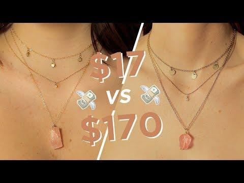 MAKING THE SAME JEWELRY: $17 Vs $170 💸 💸