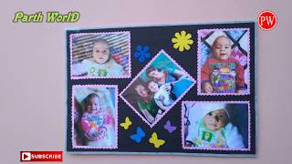 Making Photo Frame on Raksha Bandhan for Your Brother || Gift Idea for any one || Room Decor ideas