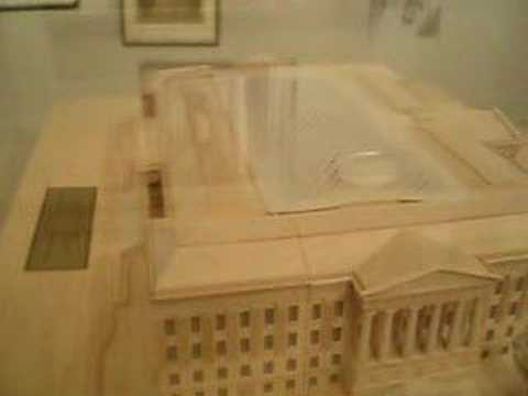 Scale model of National Portrait Gallery