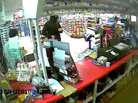 Armed Robbery Surveillance Video Released