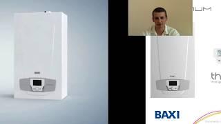Видеообзор газового котла BAXI LUNA Platinum