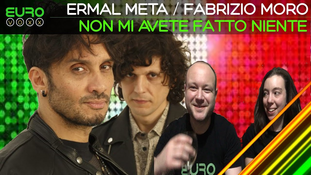 San Remo 2018 Winner - Ermal Meta & Fabrizio Moro (Reaction)