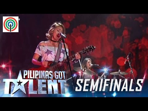 Pilipinas Got Talent Season 5 Live Semifinals: Rouge - All-Female Rock Band